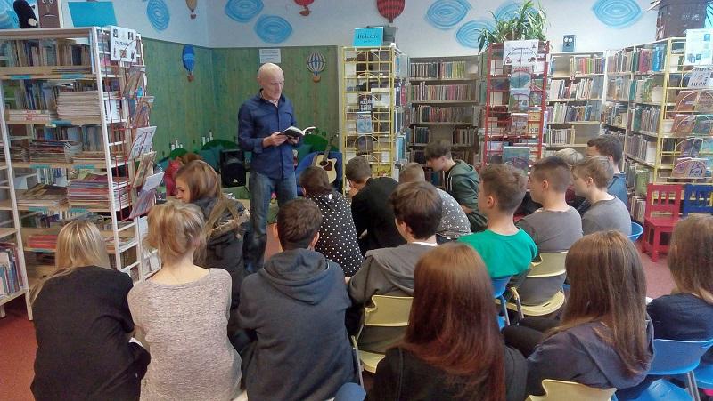 Autorské čtení v městské knihovně v Plzni