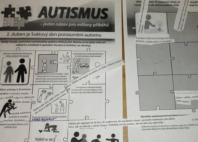 Tvořte s námi leták o autismu 4