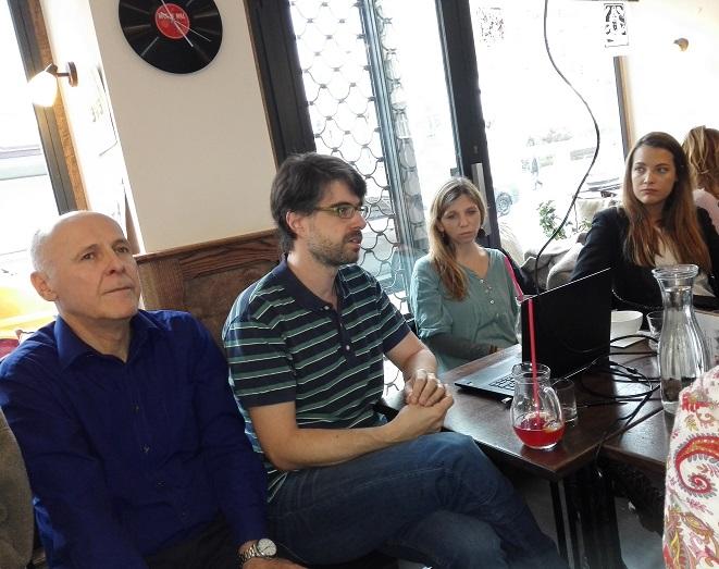 Děti úplňku: Dorotka, Adéla, Míša, Marcela 1