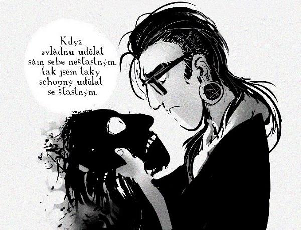 Komiks Isaac v úzkých