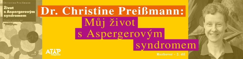 MUDr. Christine Preißmann: Můj život s Aspergerovým syndromem 1