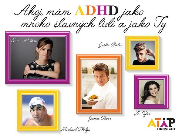 Ahoj, mám ADHD