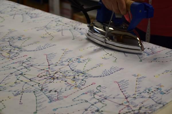 Matěj Hošek a jeho svět jako dopravní mapa 1