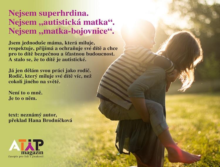 Existují dokonalé matky autistických dětí? 1
