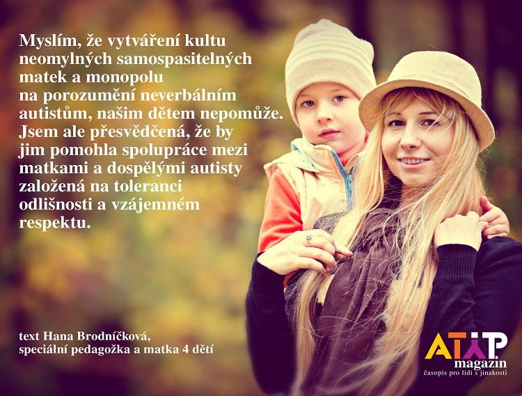 Existují dokonalé matky autistických dětí? 4