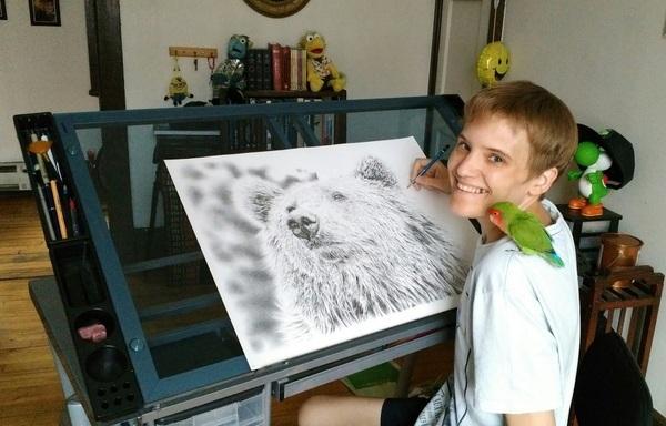Autistický savant Remrov: Neverbální autista může být schopný fungovat lépe než autista, který umí mluvit 3
