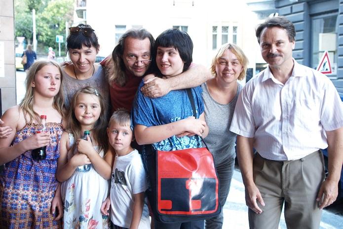 Veselá dívka Markéta s Rettovým syndromem 3