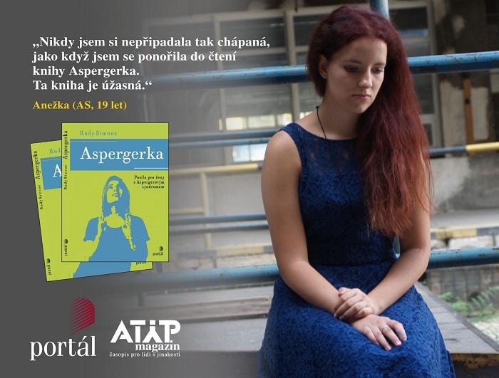 Do knihy Aspergerka jsem se ihned ponořila 2