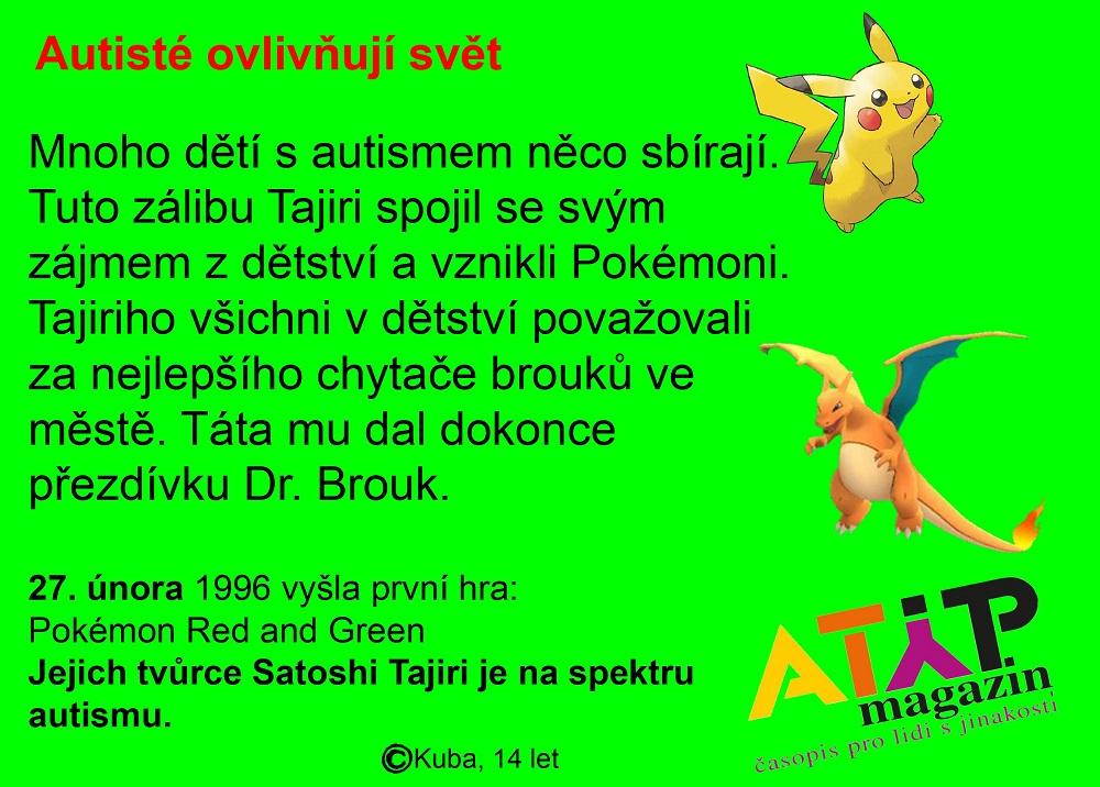 Pokemon Day: Hlavní hrdina Ash je alter ego autistického tvůrce Satoshi Tajiriho 1