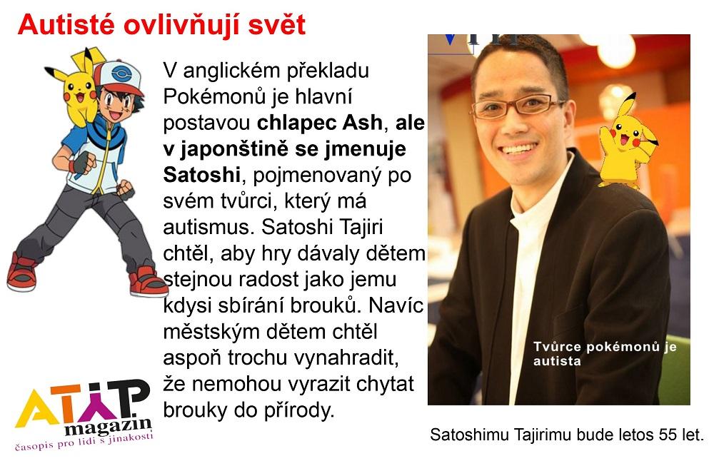 Pokemon Day: Hlavní hrdina Ash je alter ego autistického tvůrce Satoshi Tajiriho 2