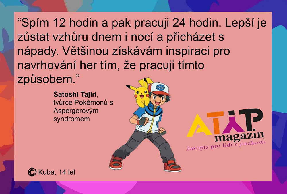 Pokémony stvořil autistický Japonec Satoshi Tajiri 5