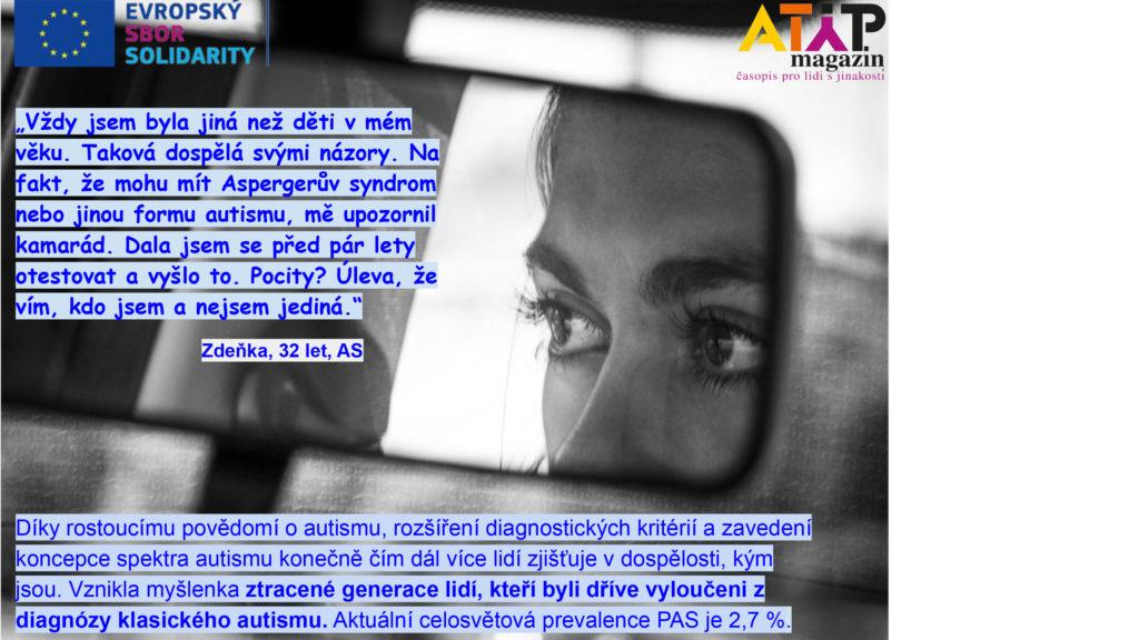 Výpovědi ztracené generace autistů – 1. díl 4