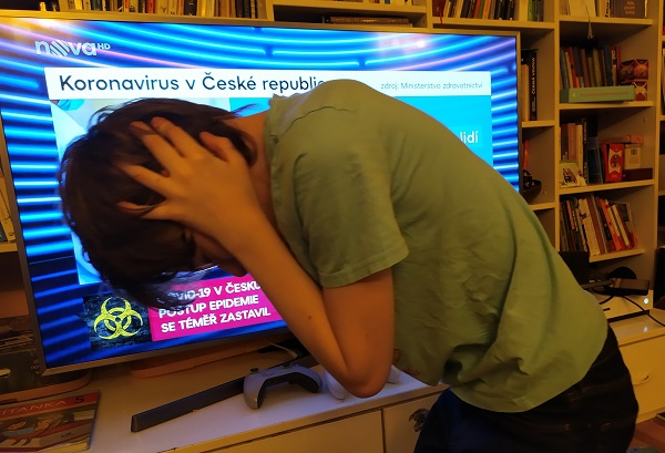 Psycholog Mikoláš: Vypněte zprávy, pokud vás nebo vaše děti zatěžují 1