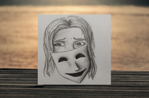 Za maskou