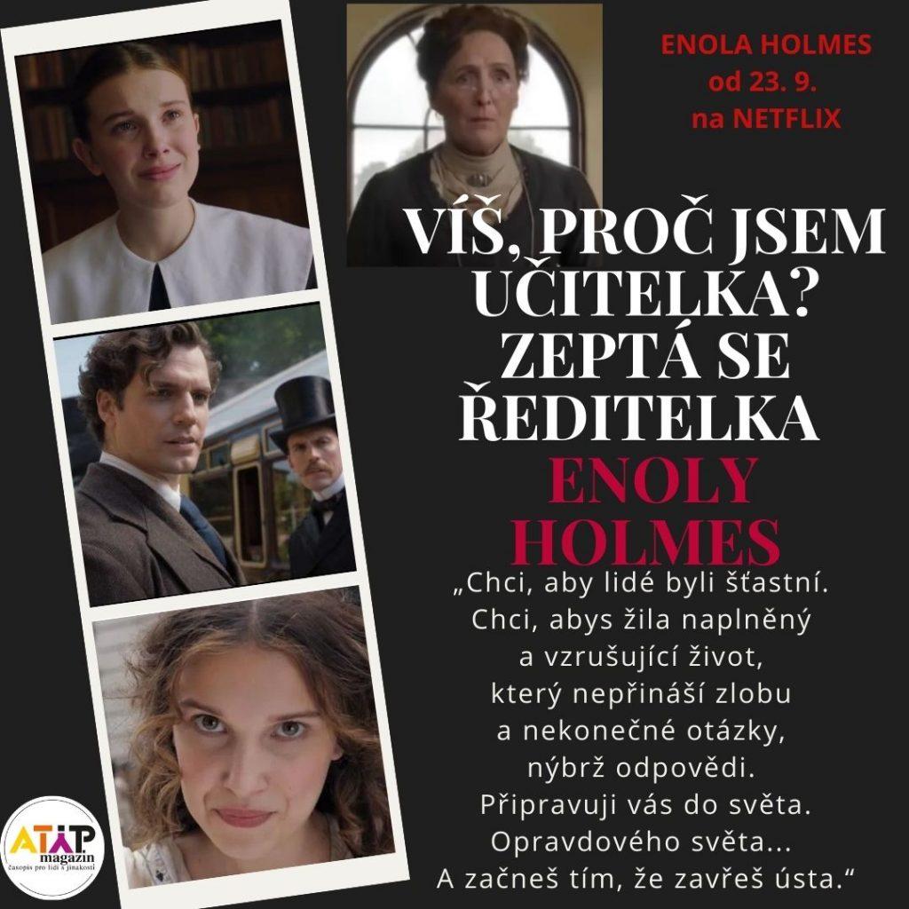 Je Enola Holmes na spektru jako Sherlock? 3