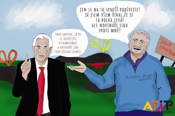 Satira: Platýs převychovává leváky